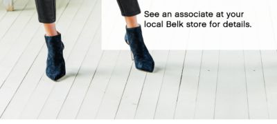 See an associate at your local Belk store for details.