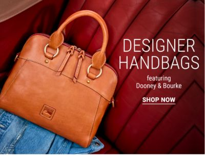 Designer Handbags, featuring Dooney & Bourke. Shop Now.