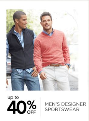 Up to 40% Off Mens Designer Sportswear