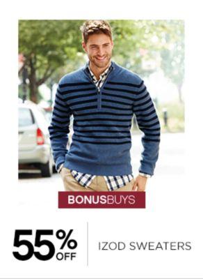55% Off Izod Sweaters