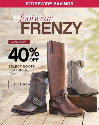 40% Off Select Boots
