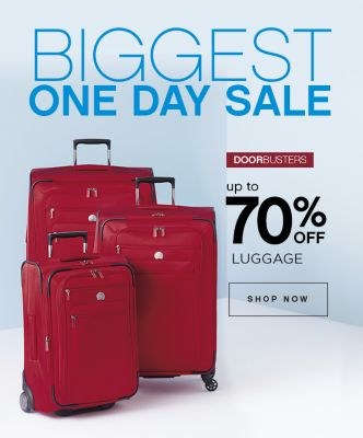 Up to 70% Off Luggage