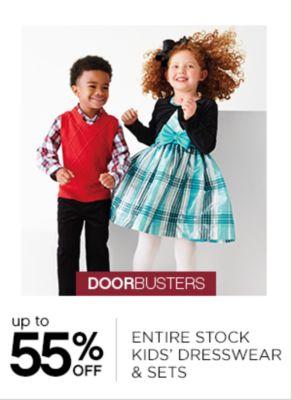 Up to 55% Off Kids Dresswear