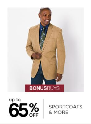 Up to 65% Off Sportcoats