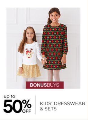Up to 50% Off Kids Dresswear