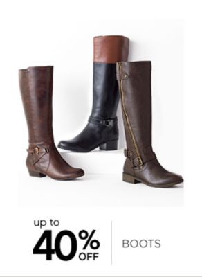 Up to 40% Off Boots