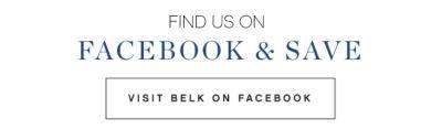 Find Us on Facebook & Save