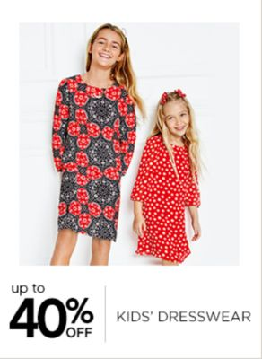 Up to 40% Off Kids Dresswear
