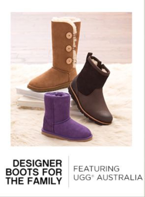 Designer Boots for the Family