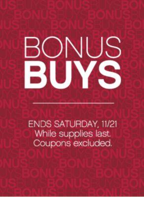 Bonus Buys