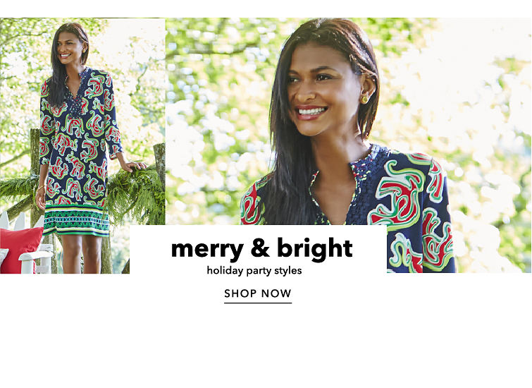 merry & bright - holiday party styles - SHOP NOW