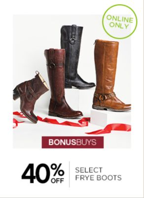up to 40% off FRYE BOOTS
