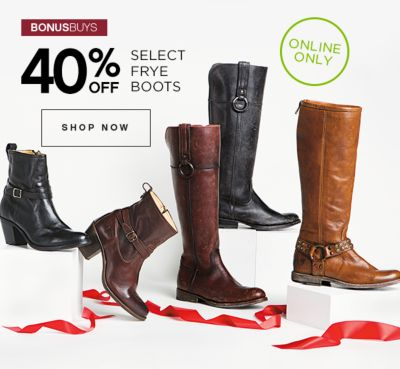 40% Off Select Frye Boots