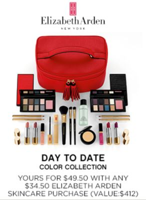 Elizabeth Arden Day to Date Color Collection | Yours for $49.50 with any $34.50 Elizabth Arden skincare purcahse ($412)