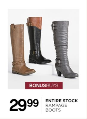 29.99 Rampage Boots