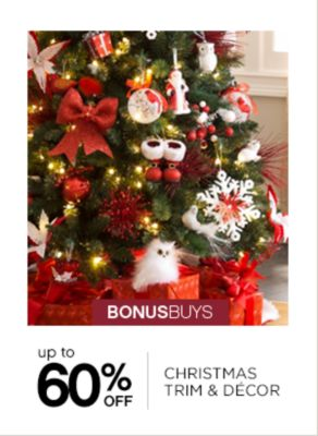 Up to 60% Off Christmas Trim and Decor