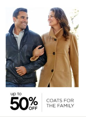 Up to 50% Off Coats for the Family