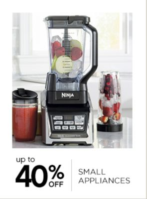 Up to 40% Off Small Appliances