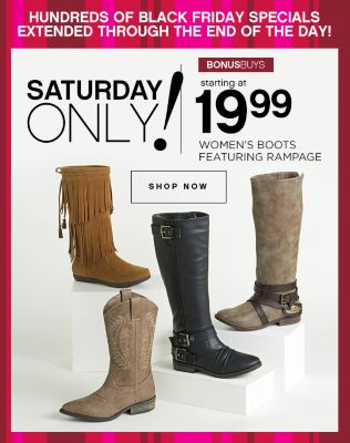 19.99 Womens Boots Featuring Rampage