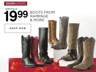 19.99 Boots from Rampage