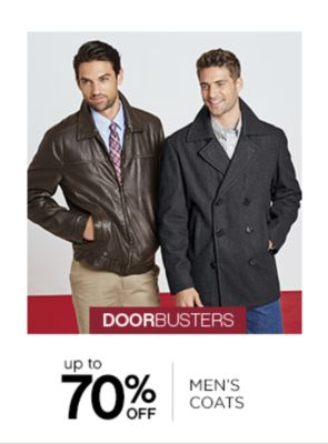Up to 70% Off Mens Coats