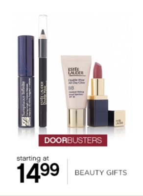 Starting at 14.99 Beauty Gifts