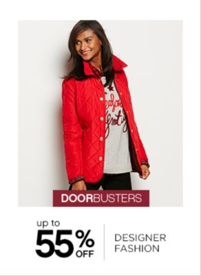 Up to 55% Off Designer Fashion