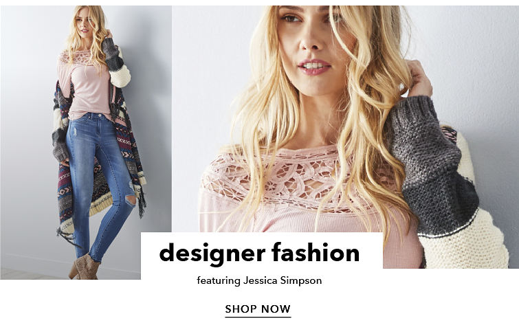 designer fashion - featuring Jessica Simpson - SHOP NOW