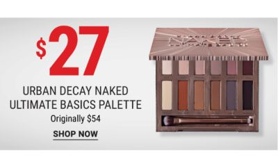 $27 Urban Decay Naked Ultimate Basic Palette {Originally $54}. Shop Now.