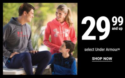 29.99 and up select Under Armour®. Shop Now.