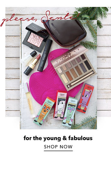Please, SAnta! for the young & fabulous. shop now.