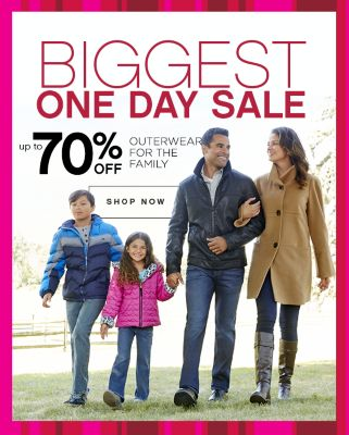 Up to 70% Off Outerwear for the Family