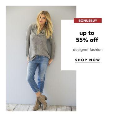 BONUSBUY | up to 55% off designer fashion | SHOP NOW