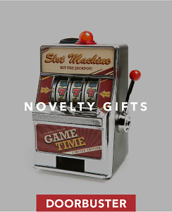 Doorbuster. Novelty gifts