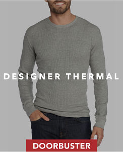 Doorbuster. Designer Thermal