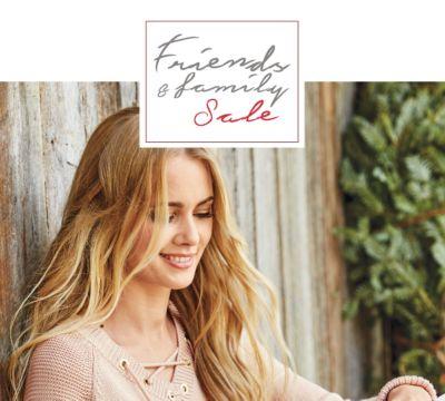 Friends & Family Sale