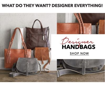 WHAT DO THEY WANT? DESIGNER EVERYTHING! | Designer HANDBAGS | SHOP NOW