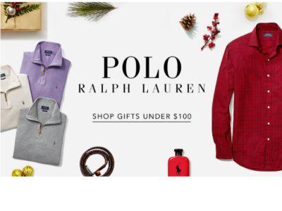 POLO RALPH LAUREN   SHOP GIFTS UNDER $100