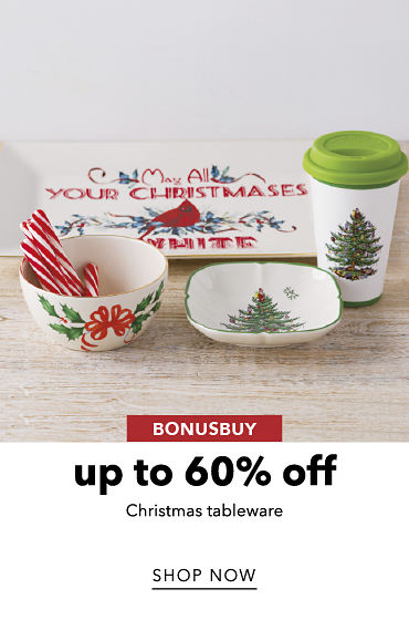BonusBuy Up To 60% Off Christmas Tableware | shop now