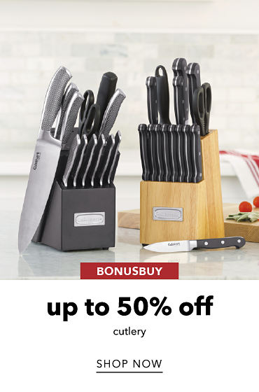 BonusBuy Up To 50% Off Cultery | shop now