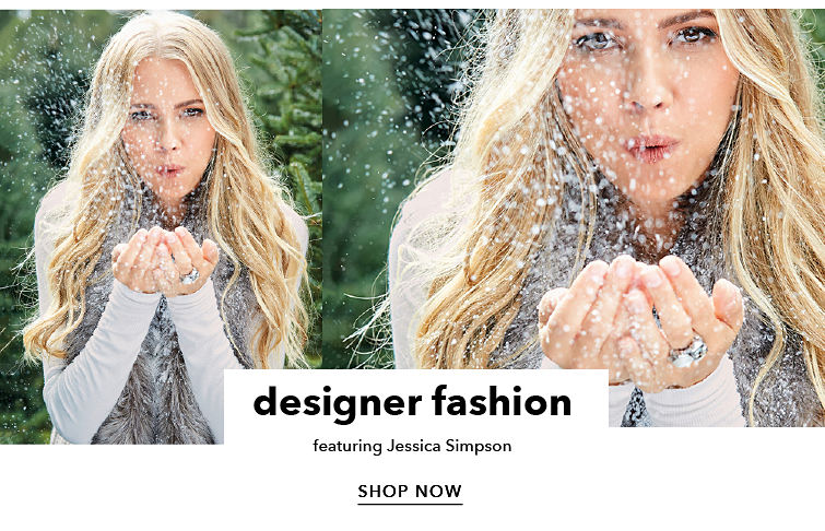 designer fashion featuring Jessica Simpson