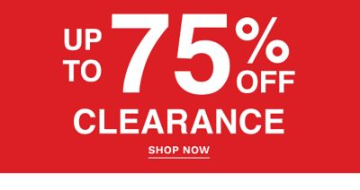 Up to 85% off clearance. Shop Now.