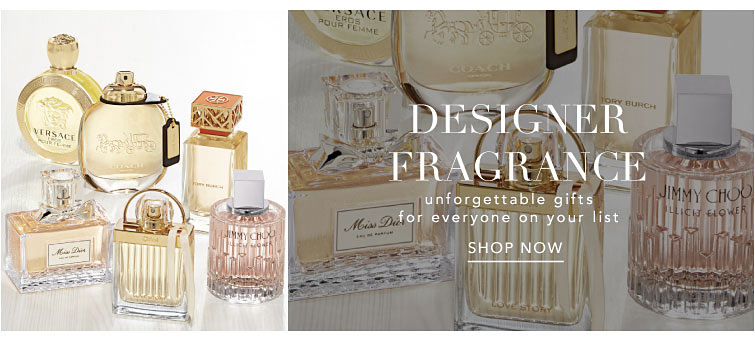 Designer Fragrance - unforgettable gifts for everyone on your list. Shop now.