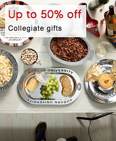 Up to 50% off Collegiate gifts
