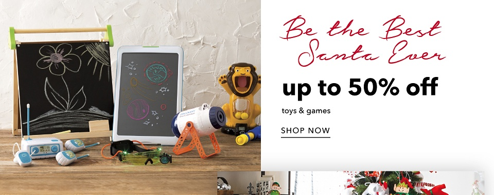 Be the Best Santa Ever - Up to 50% off Toys & Games - Shop Now