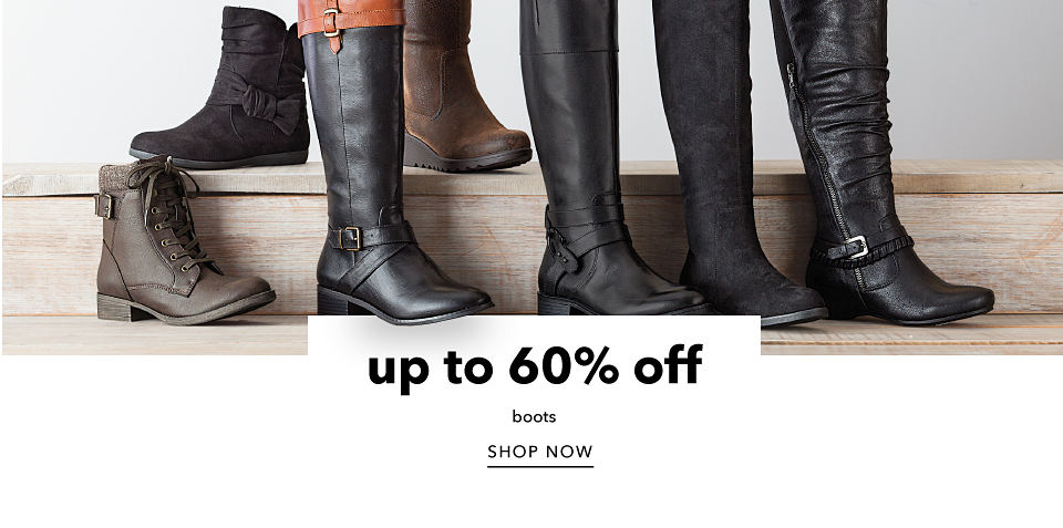 Up to 60% off Boots - Shop Now