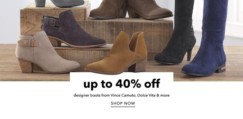 Up to 40% off Designer Boots from Vince Camuto, Dolce Vita & More - Shop Now