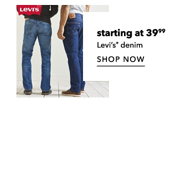 Starting at 39.99 Levi's registered trademark. Shop now