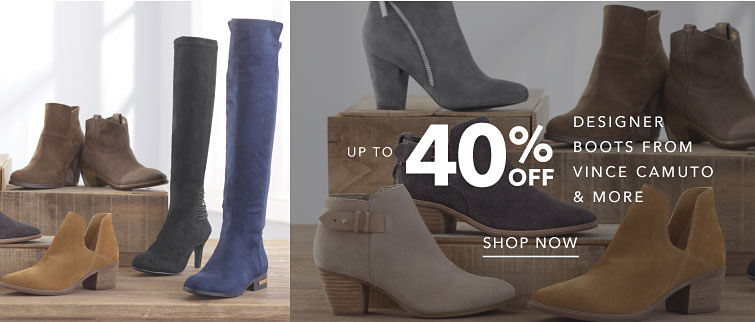 Up To 40% Off Designer Boots From Vince Camuto & More Shop Now