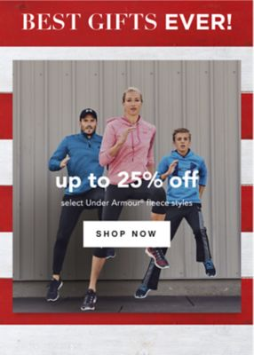 BEST GIFTS EVER! | up to 25% off select Under Armour® fleece styles